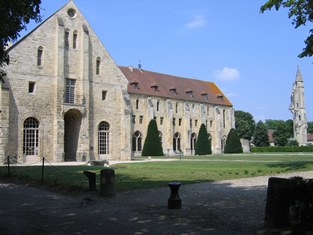 Cistercian abbey of Royaumont